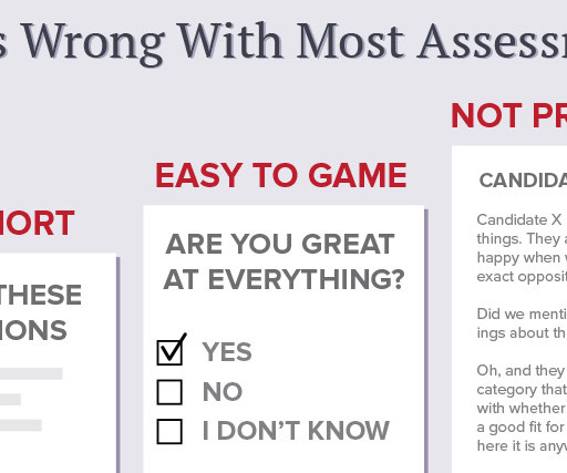 personality assessment recruiting brief