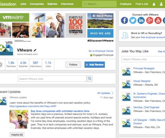 Culture, Employer Branding and Webinar - Recruiting Brief