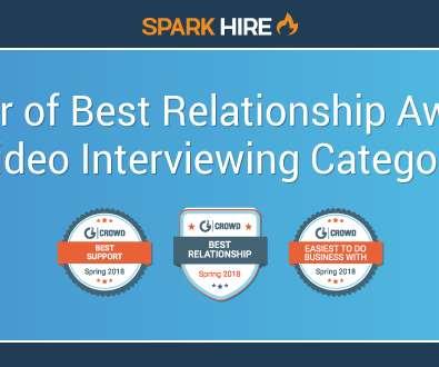 Spark Hireu0027s Video Interviewing Platform Achieves Best Relationship In G2  Crowdu0027s Video Interviewing Index Report